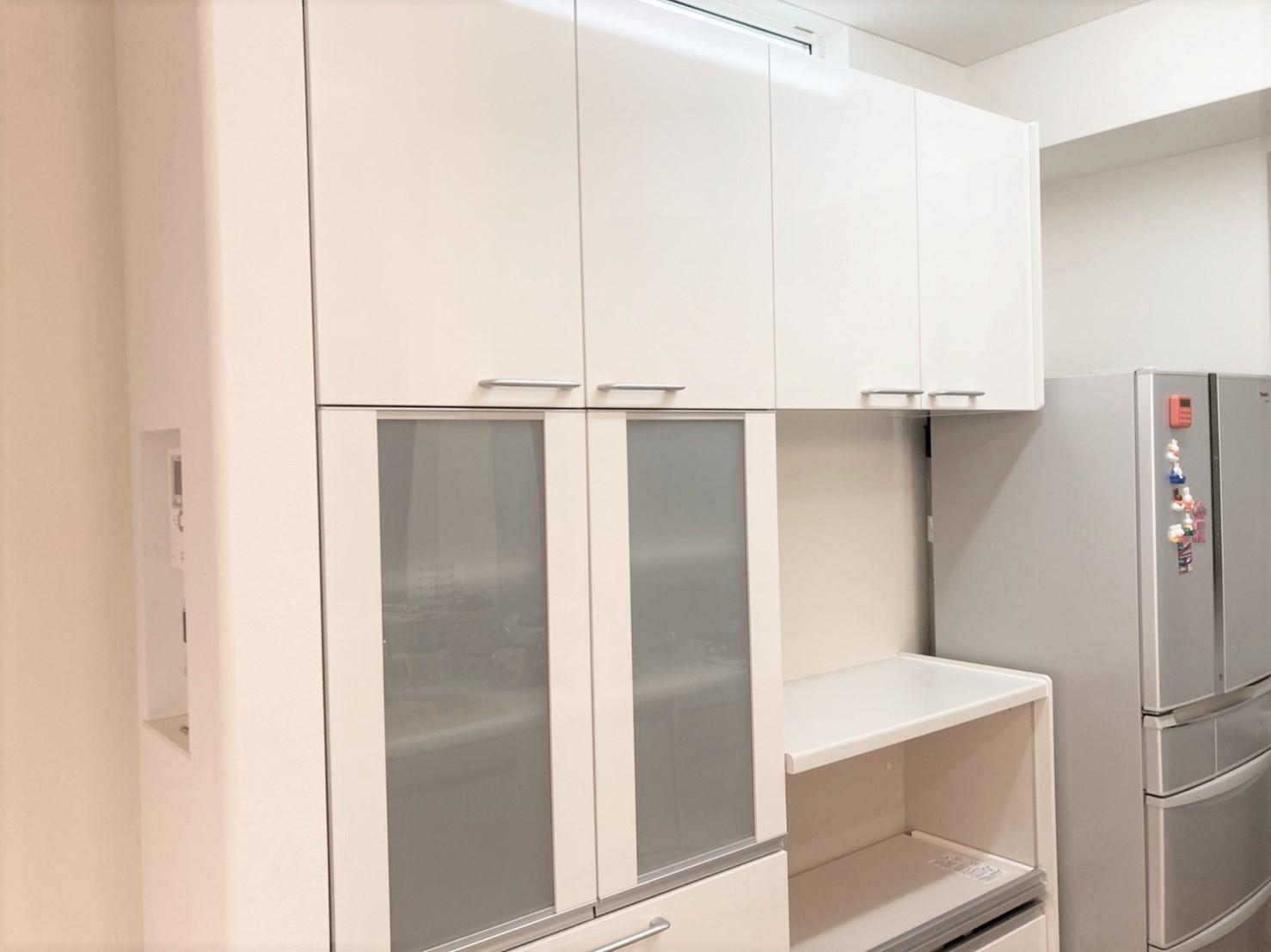 千葉県松戸市F様邸 カップボード新設のキッチンリフォーム
