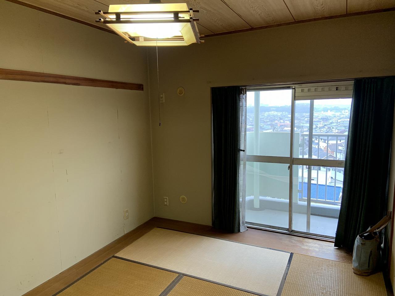 マンションの大壁和室