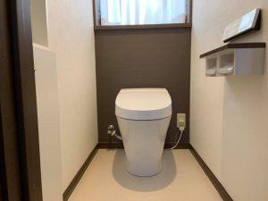 施工後の1Fトイレ