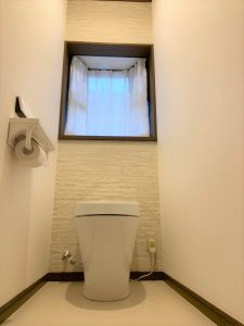 施工後の2Fトイレ
