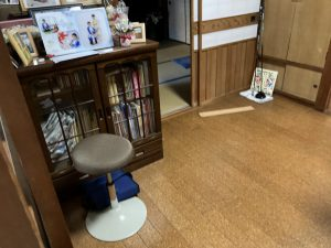 千葉県柏市N様邸 無垢材で床の張替リフォーム_ビフォー1