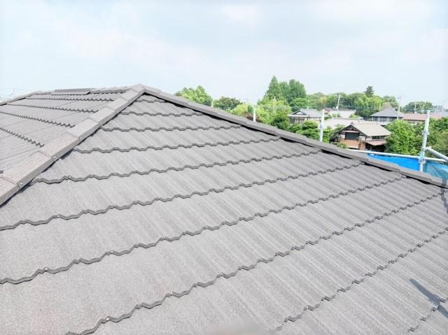 千葉県流山市E様邸 屋根重ね葺きと外壁塗装のリフォーム