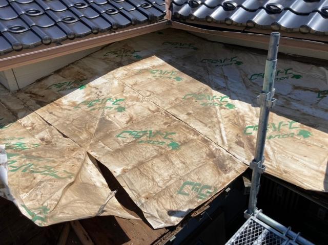 屋根瓦の葺き替えメンテナンス